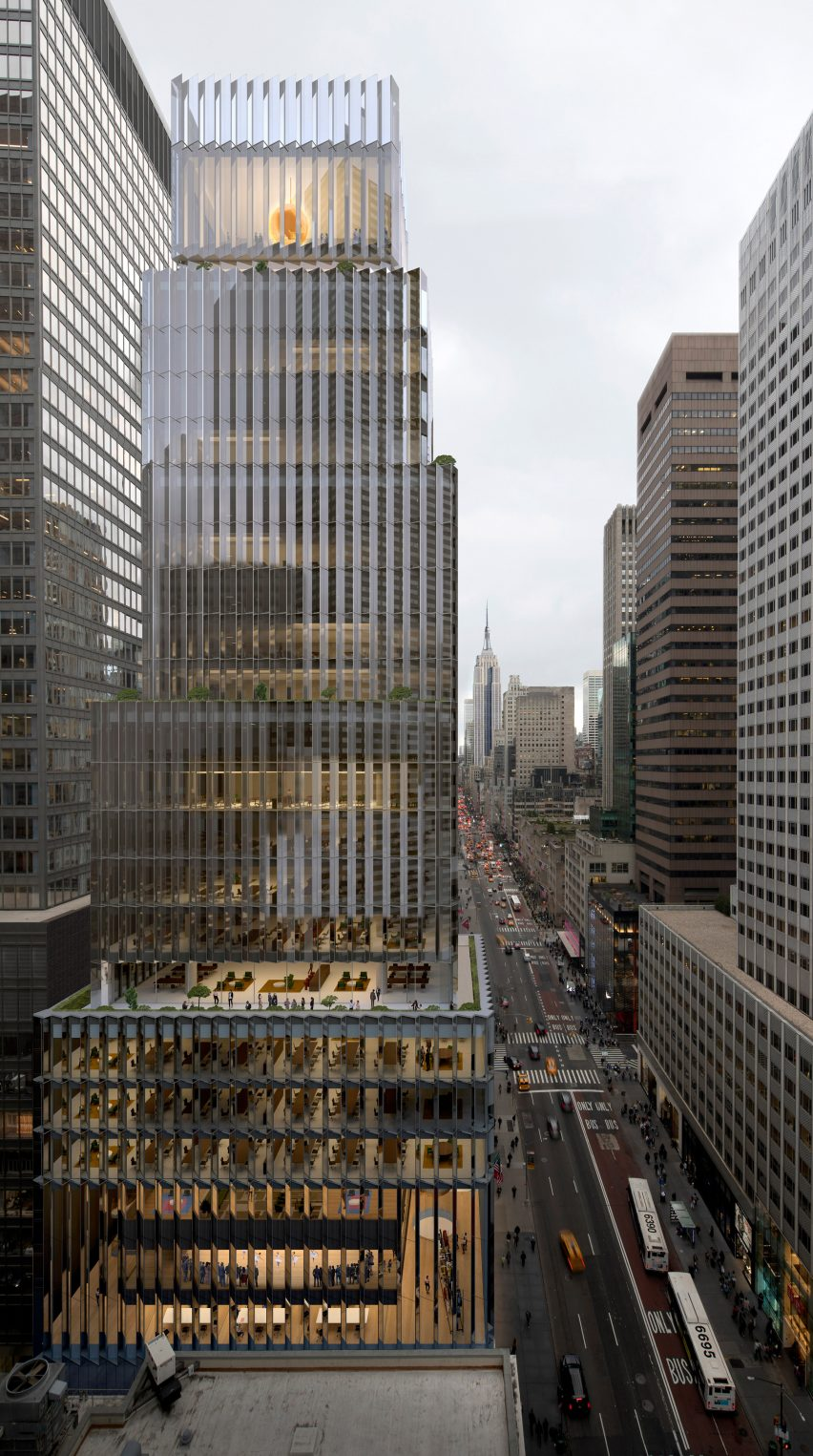 David Chipperfield designs Rolex USA headquarters in New York