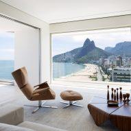 Studio Arthur Casas perches RS Apartment above Rio de Janeiro's Ipanema beach