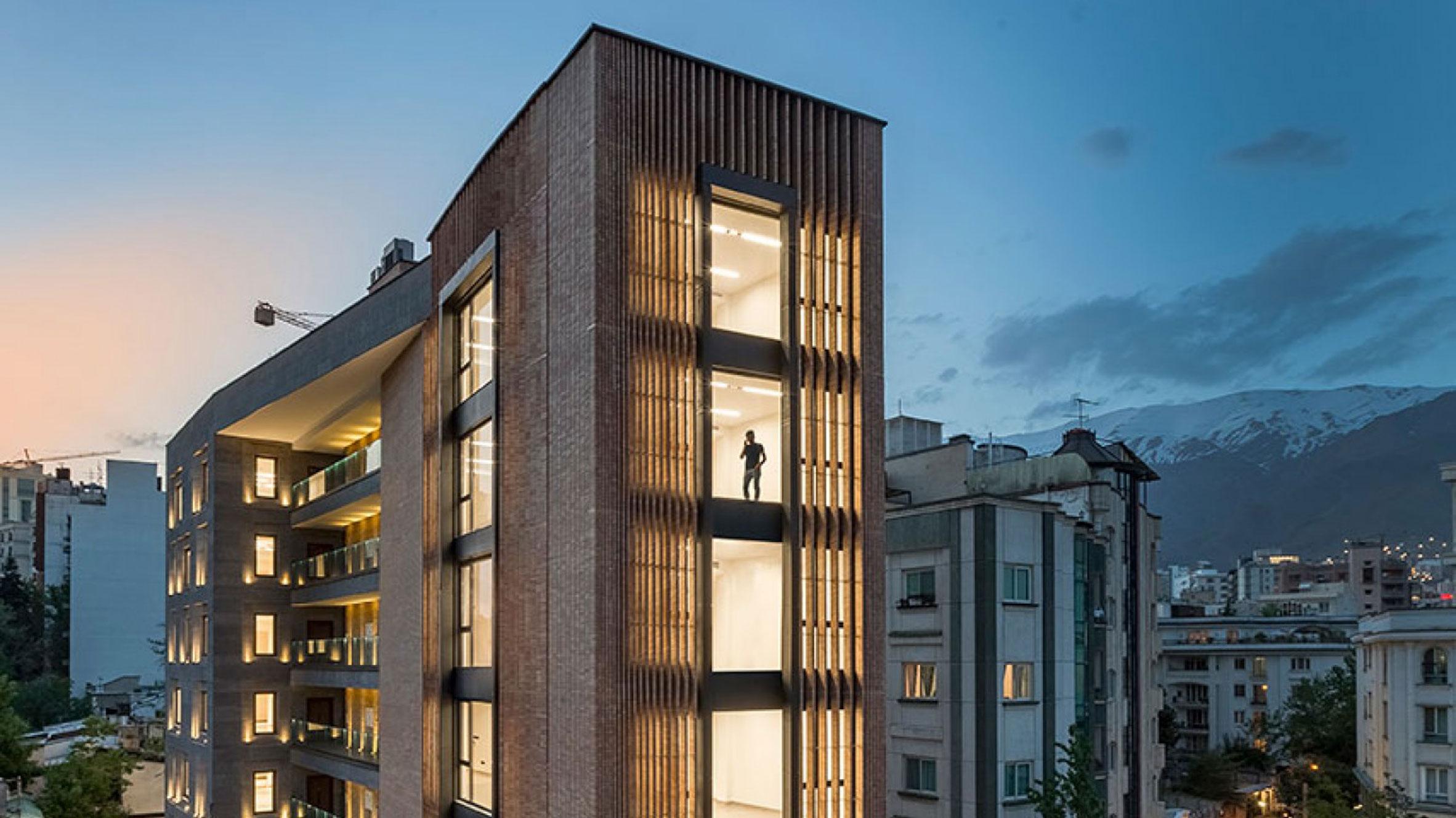 Saba Commercial Building, Tehran, Iran, by SBAD office and 7Hoor Architecture Studio