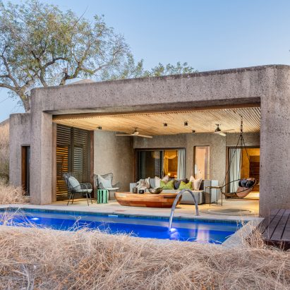 Earth Lodge at Sabi Sabi Private Game Reserve