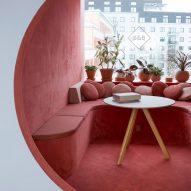 Kvistad creates tonal workspaces inside Oslo office