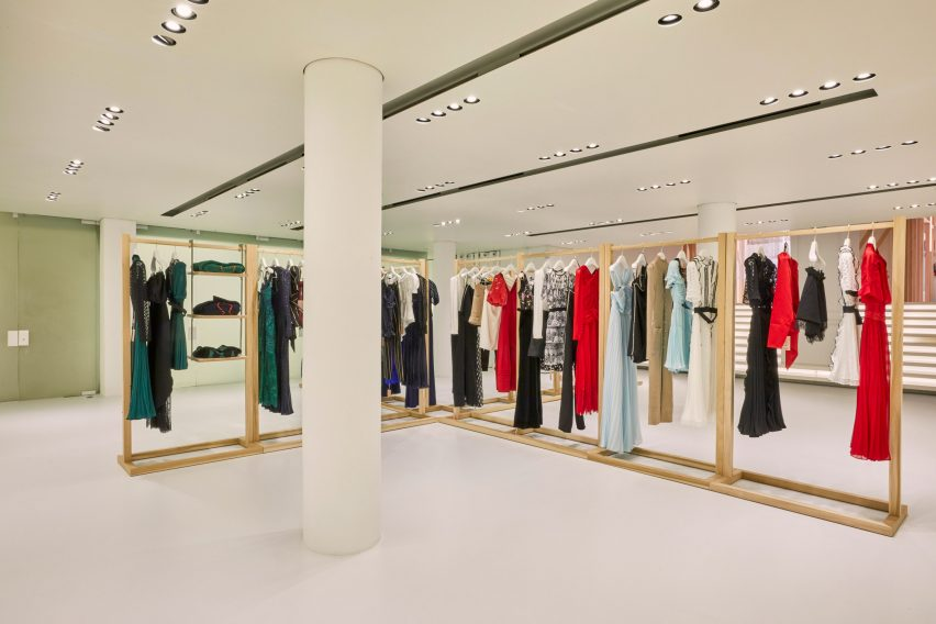 Self-Portrait New York pop-up store by Storey Studio