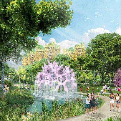 Sentosa-Brani Master Plan by WilkinsonEyre and Grant Associates for Singapore