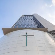 Rocco Design Architects creates skyscraper church in Hong Kong