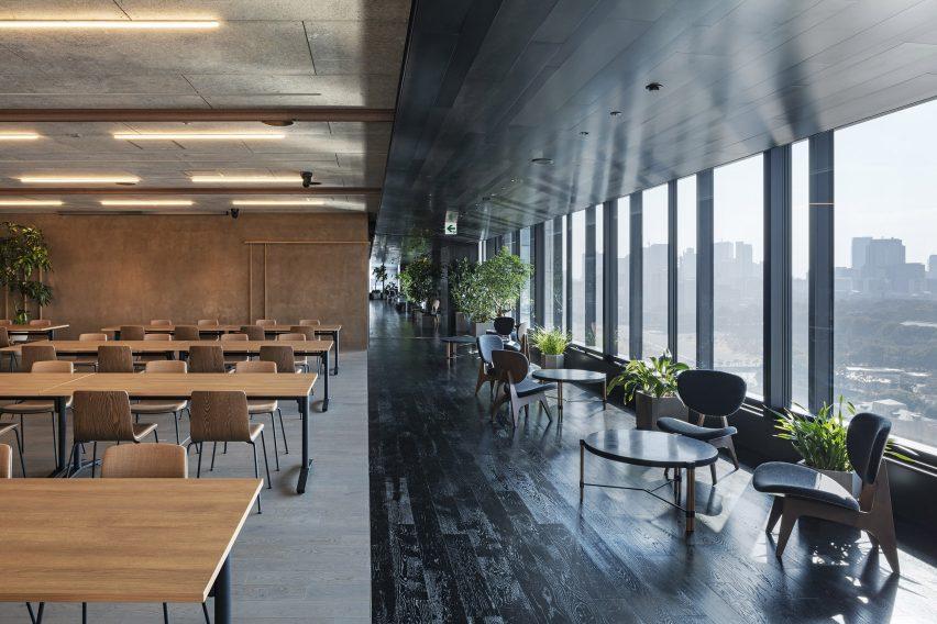 Slack Tokyo office, designed by Suppose Design Office