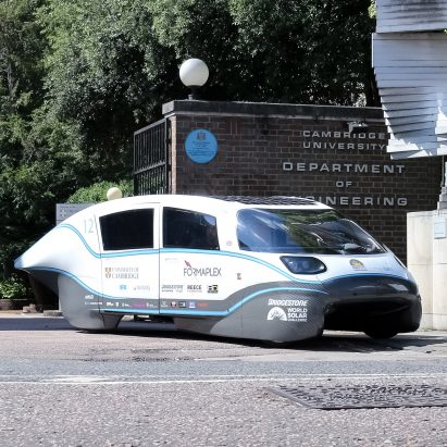 Cambridge University team build UK's most efficient electric car