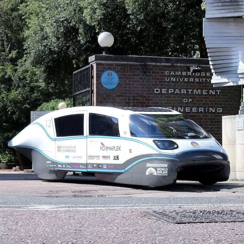 Cambridge University team build UK's most efficient electric car
