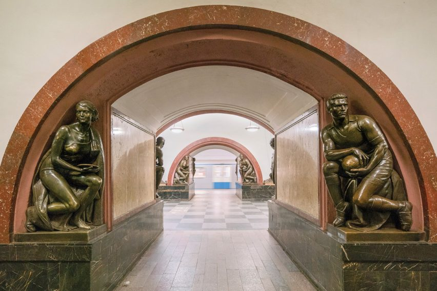Soviet Metro Stations book photography by Christopher Herwig
