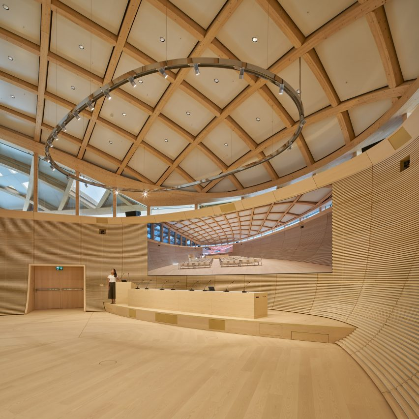 Swatch and Omega Campus by Shigeru Ban