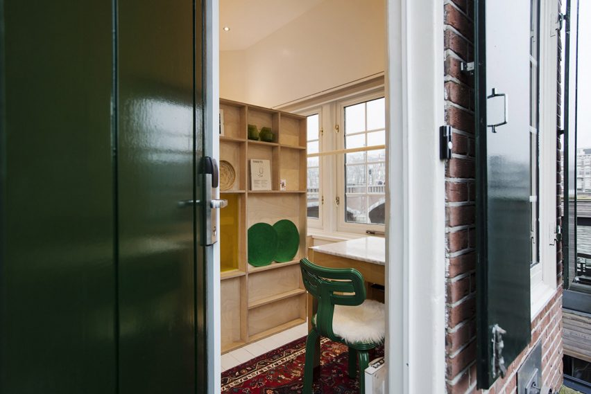 Sweets hotel in Amsterdam, designed by Space & Matter