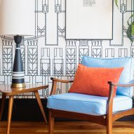 "The Dwell Hotel becomes ""Chattanooga's living room"" with retro furnishings from junk shops, eBay and Etsy"