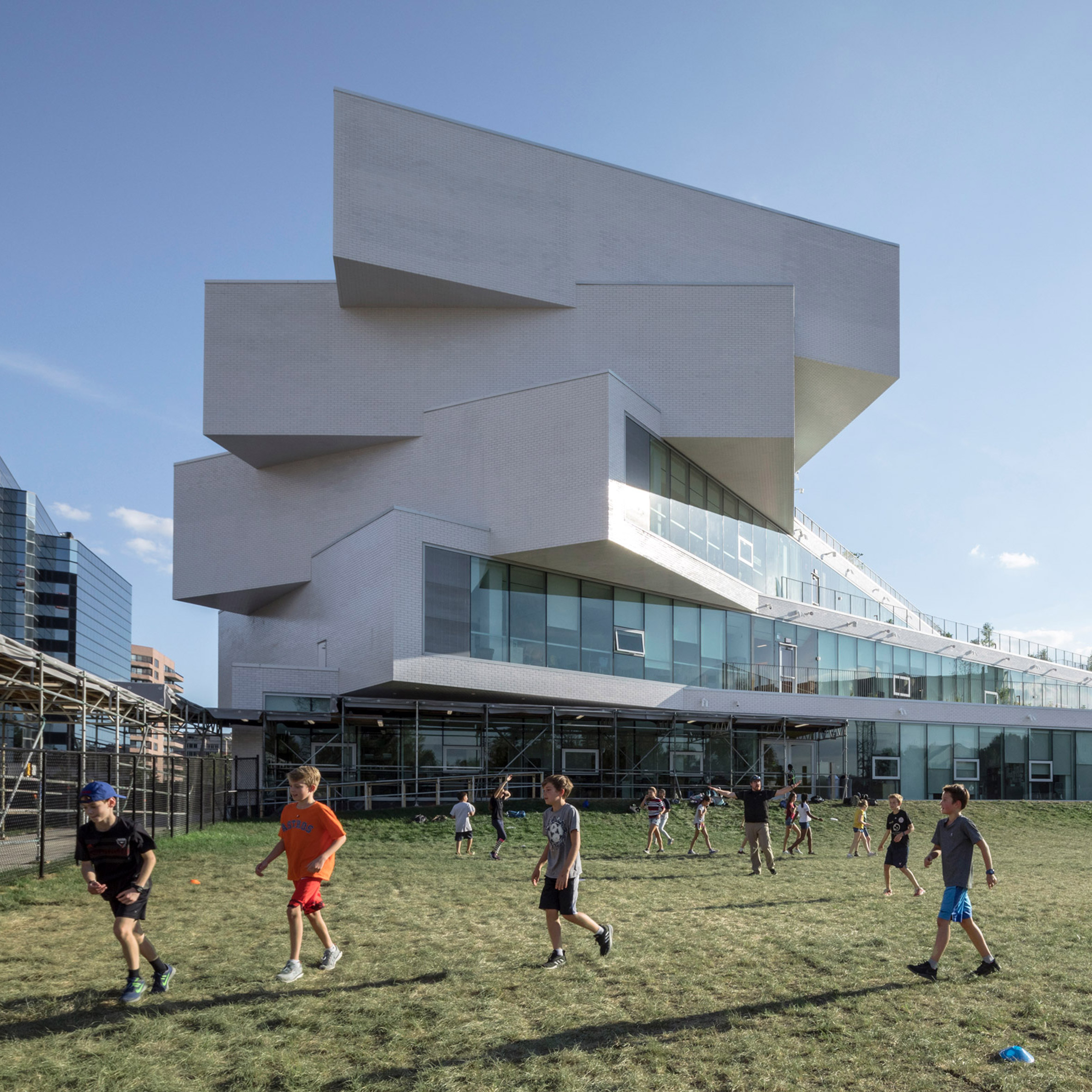 BIG designs twisting Virginia school The Heights