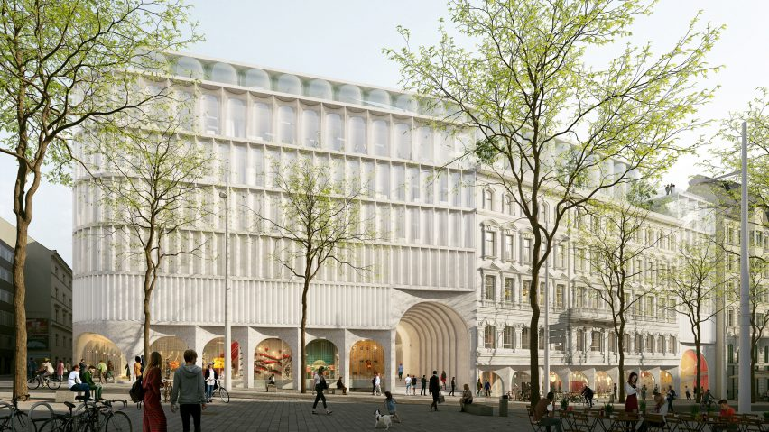 The Link department store and hotel by OMA for KaDeWe