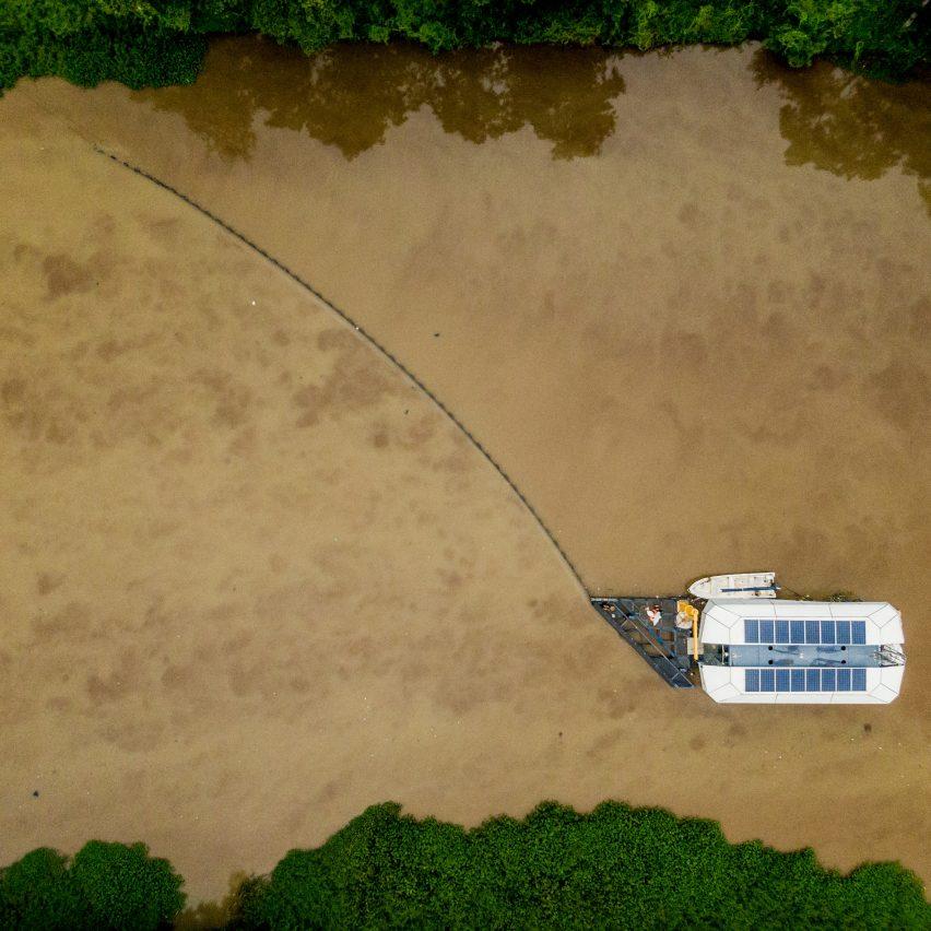 Interceptor by The Ocean Cleanup