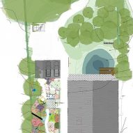Landscape planting proposal of The Tractor Shed by HeathWalker Studio