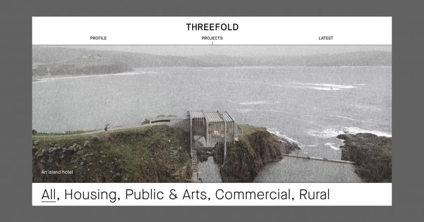 Archiboo Web Awards 2019: Threefold Architects website