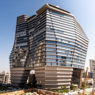 Ron Arad completes ToHA office tower in Tel Aviv