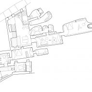 Ground floor plan of Two holiday residences in Fira by Kapsimalis Architects