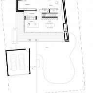 Ground floor plan of UF Haus by SoHo Architektur