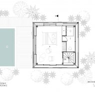 Uluwatu Surf Villas floor plans and sections by Alexis Dournier