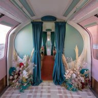 Kirkby Design gives 1960s Tube carriage pastel-coloured revamp