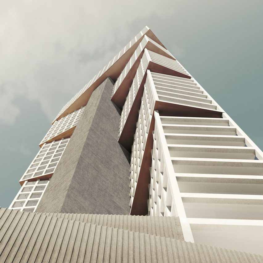 Wafra Tower by OMA