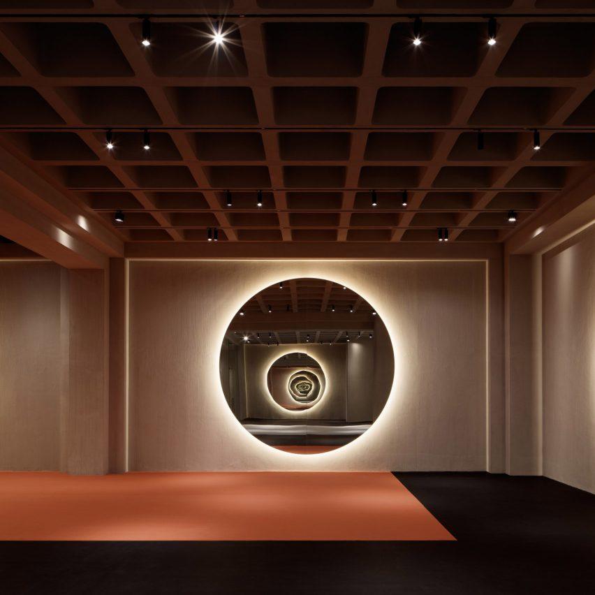 VSHD Design creates geometric gym in Dubai shopping mall