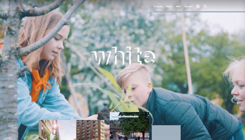 Archiboo Web Awards 2019: White Arkitekter website