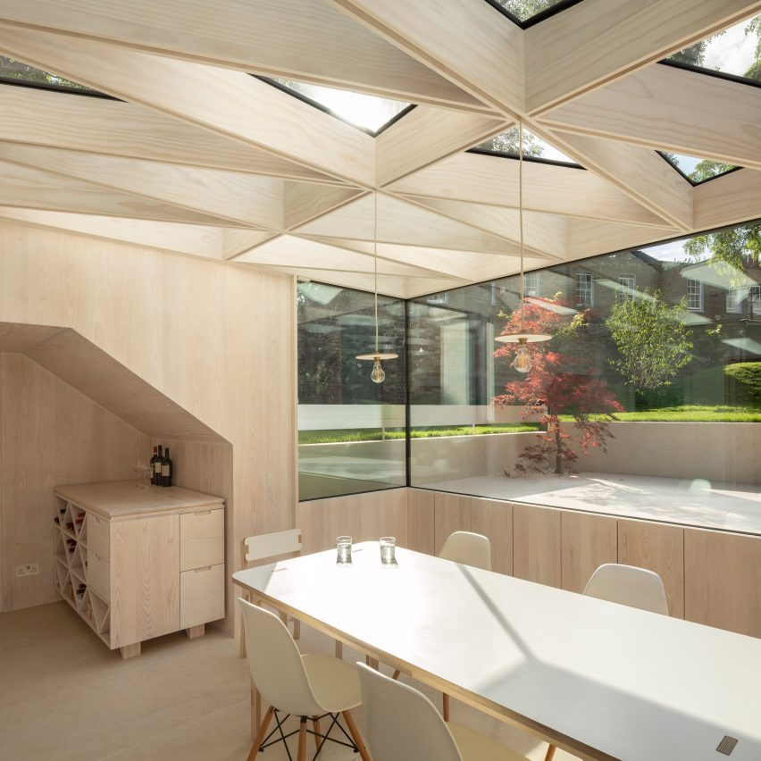 Wooden Roof by Tsurata Architects