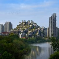 Heatherwick Studio reveals 1,000 Trees nearing completion in Shanghai
