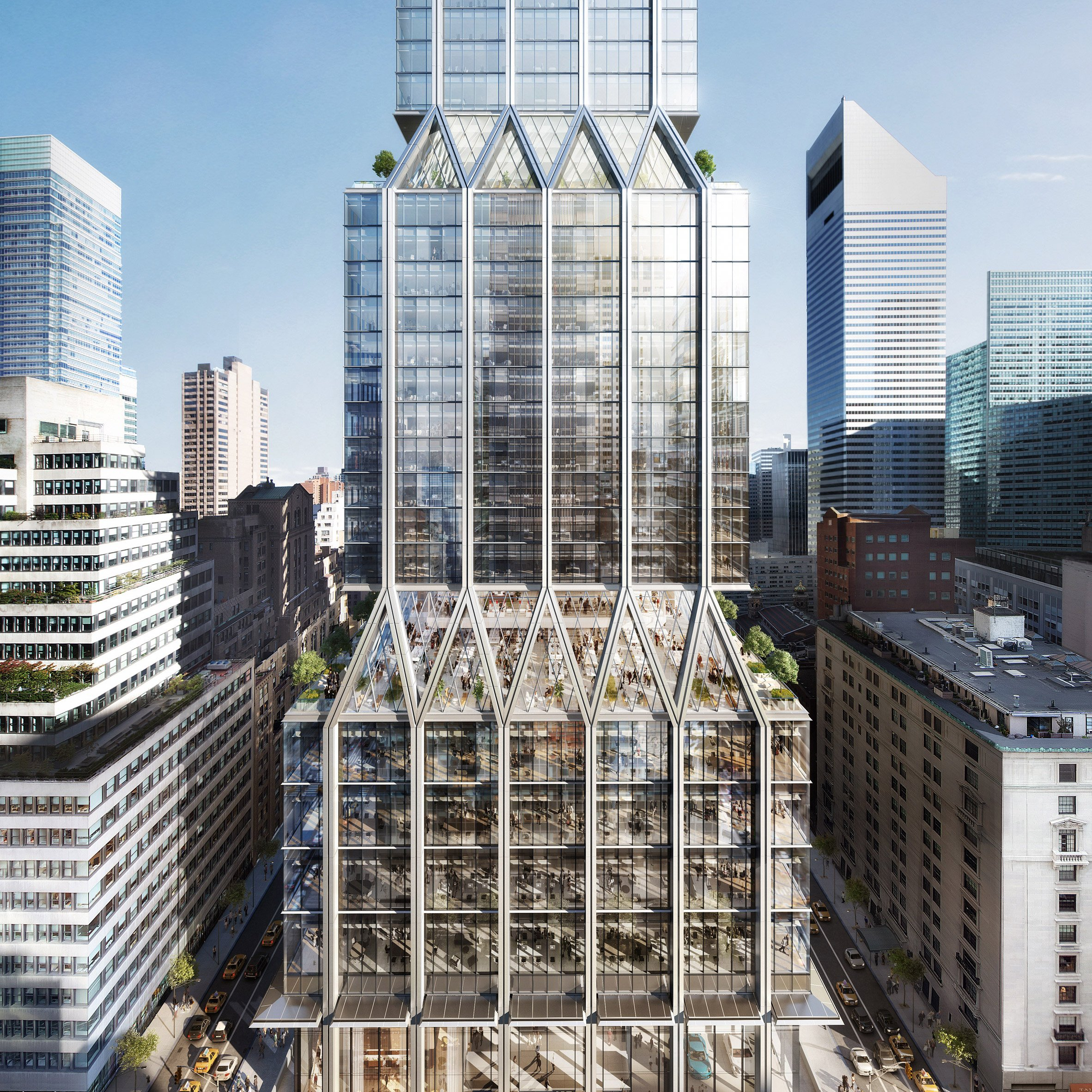 12 new buildings to look forward to in 2020: 425 Park Avenue, US, Foster + Partners