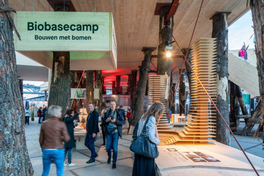Biobasecamp Marco Vermeulen Dutch Design Week