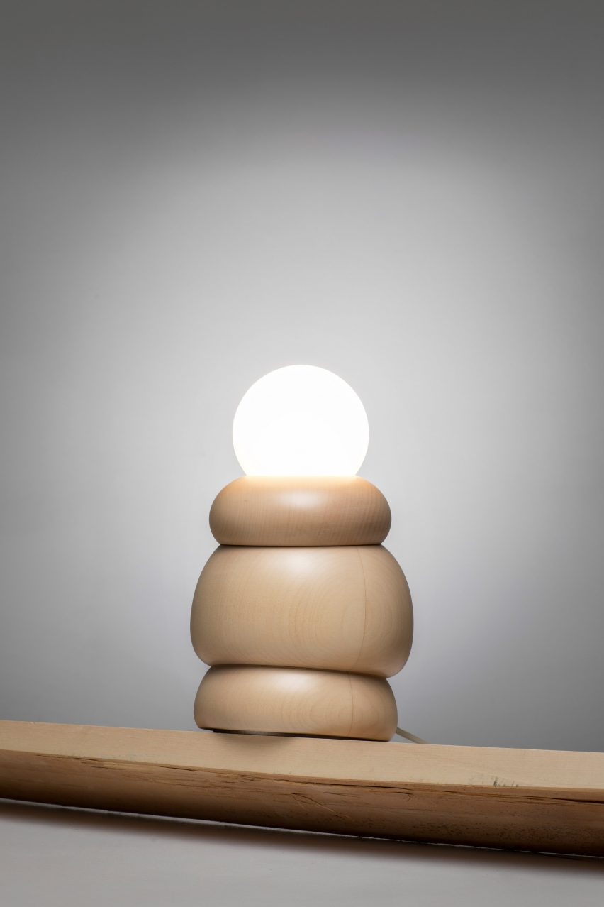 Studio Sain Bulbous lighting