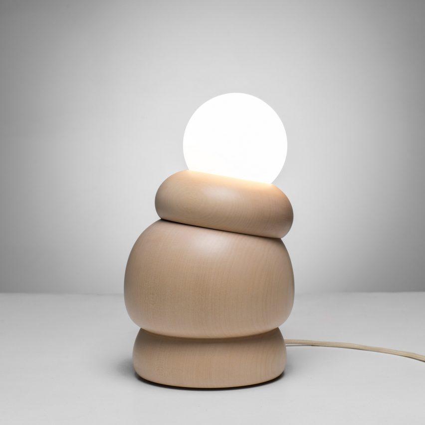 Studio Sain Bulbous lighting