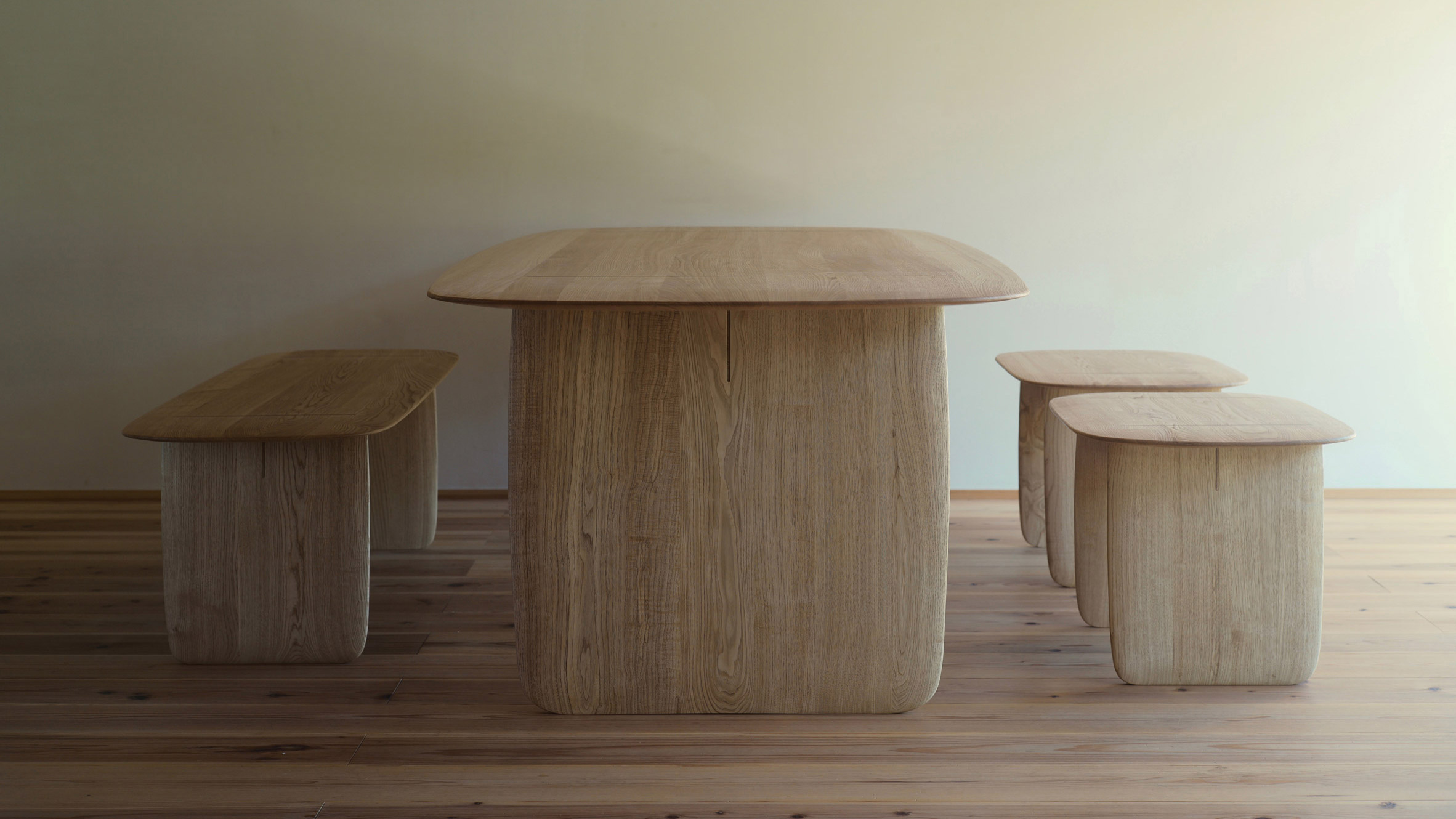 Claesson Koivisto Rune collaborates with master woodworker on Hand furniture