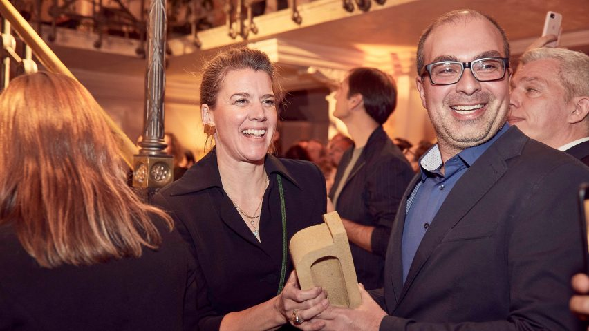 Alice Kriegel and John Manaves of MANA won retail interior of the year with Le Cube