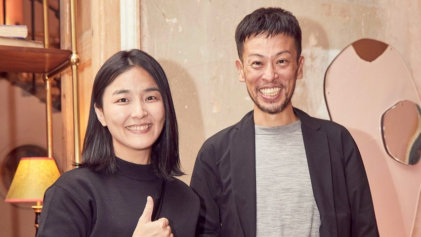 Korys Chang and Szumin Wang of A Little Design, winner of small interior of the year