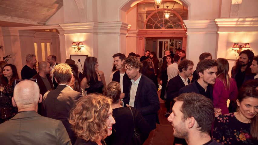 Dezeen Awards 2019 party