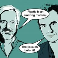 "Plastic recycling is ""bullshit"" says Richard Hutten at Dezeen Day"