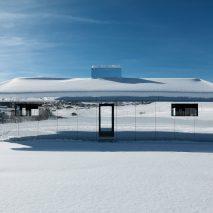 Doug Aitken Gstaad mirrored house installation