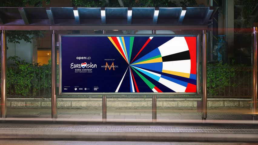 Eurovision 2020 visual identity combines song contest participant's national flags