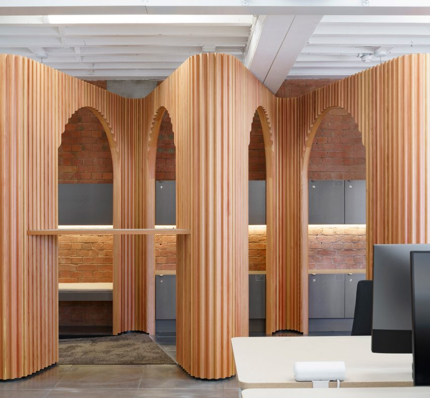 The Stoa & The Fora, Airbnb offices designed by Threefold Architects
