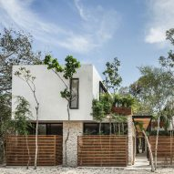 Studio Arquitectos creates holiday home-like apartments for Tulum's permanent residents