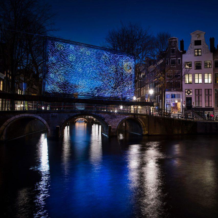 Amsterdam Light Festival Starry Night