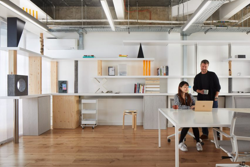 An Office of Stacked Things by Sam Jacob Studio