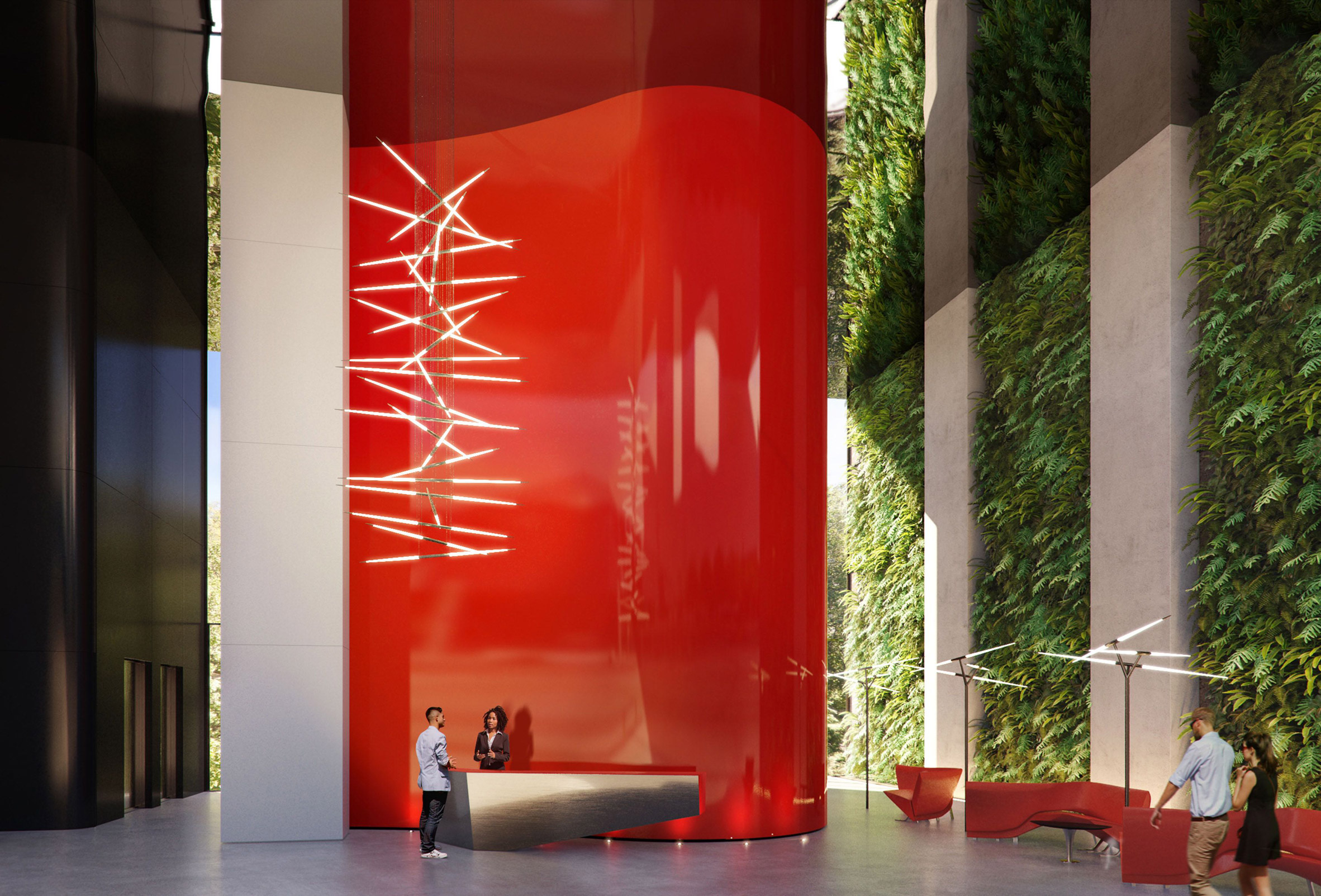 Visual of Antares by Studio Odile Decq in Barcelona, Spain