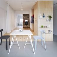 Apartments in Senri by Nmstudio Architects