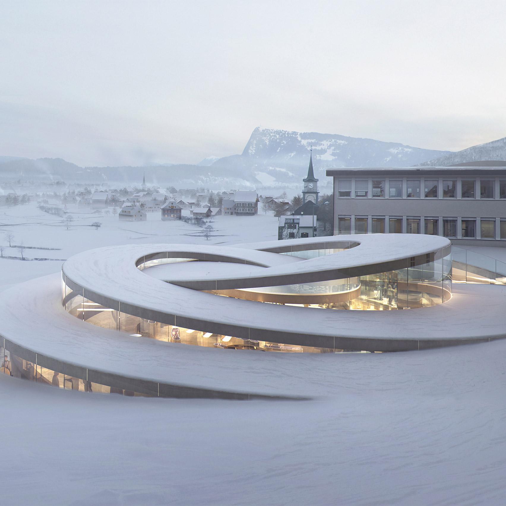 12 new buildings to look forward to in 2020: Musée Atelier Audemars Piguet, Switzerland, BIG