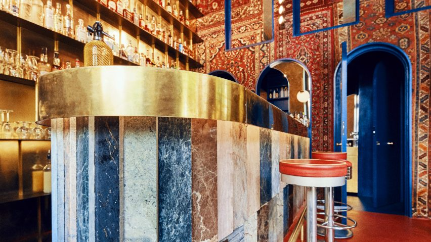 Aura bar, Warsaw, designed by Kacper Gronkiewicz