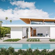Turkel Design uses prefab elements to construct Axiom Desert House in Palm Springs